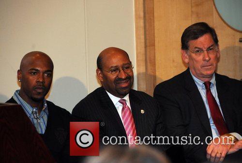 Jimmy Rollins, Mayor Nutter and Sam Katz Jimmy...