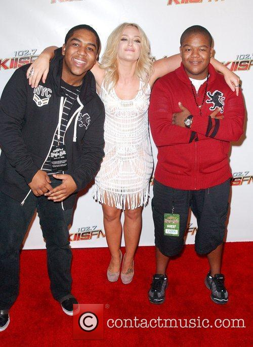 Lacey Schwimmer and Kyle Massey 3