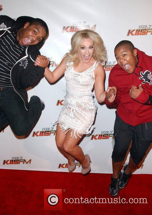 Lacey Schwimmer and Kyle Massey 1
