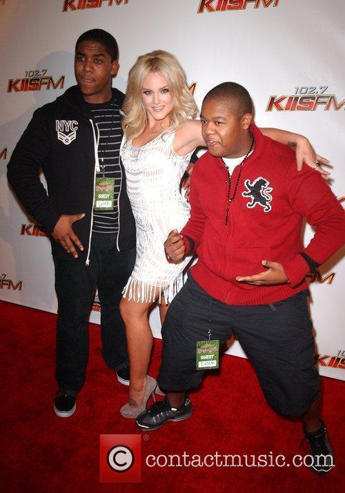Lacey Schwimmer and Kyle Massey 6