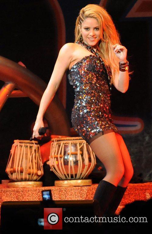 Shakira Y100's Jingle Ball 2009 held at the...