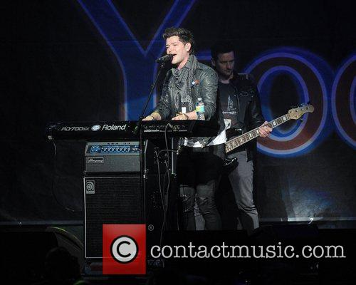 Danny O'Donoghue from the Script performs at the...