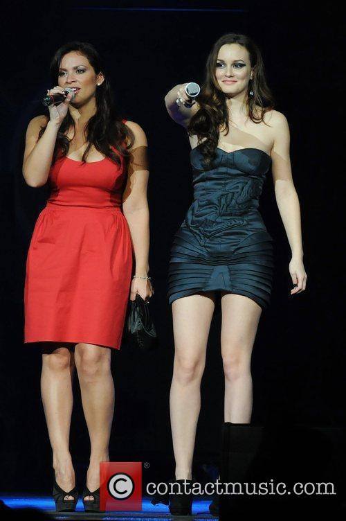 Leighton Meester Y100's Jingle Ball 2009 held at...