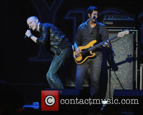 The Fray Y100's Jingle Ball 2009 held at...