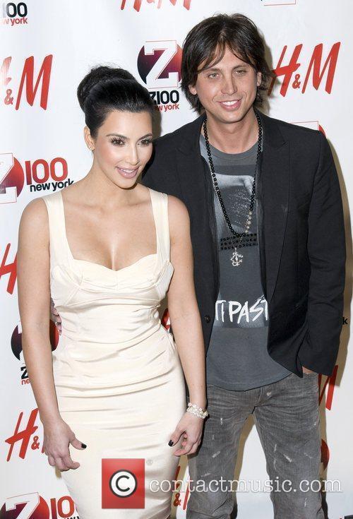 Kim Kardashian and Jonathan Cheban Z 100's Jingle...