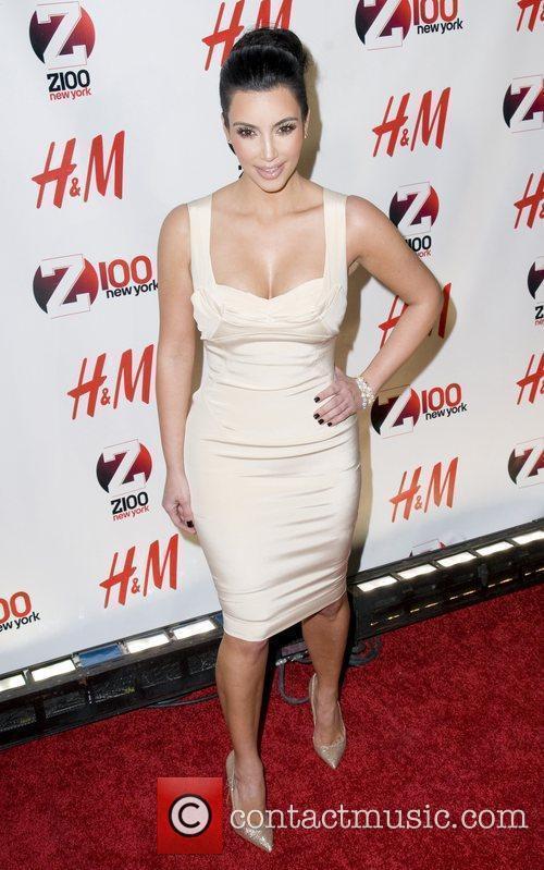 Kim Kardashian Z 100's Jingle Ball 2010 presented...
