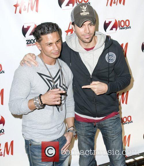DJ Pauly D and Enrique Iglesias Z 100's...
