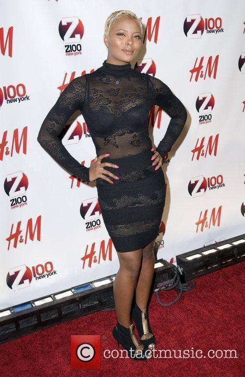 Eva Marcille Z 100's Jingle Ball 2010 presented...