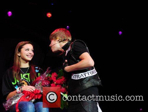 Justin Bieber Jingle Bell Ball held at the...