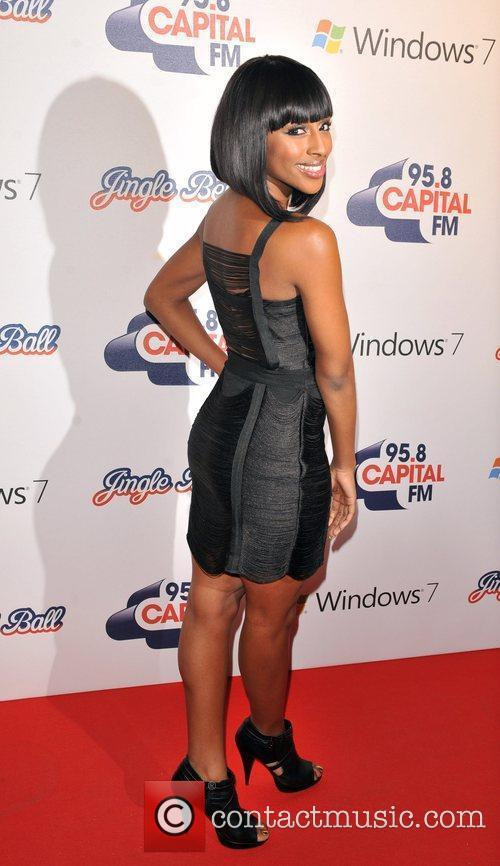 Alexandra Burke The Jingle Bell Ball held at...