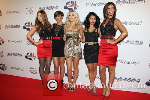 Una Healy, Frankie Sandford, Mollie King, Rochelle Wiseman and Vanessa White 1