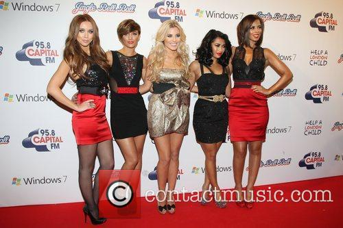 Una Healy, Frankie Sandford, Mollie King, Rochelle Wiseman and Vanessa White 3