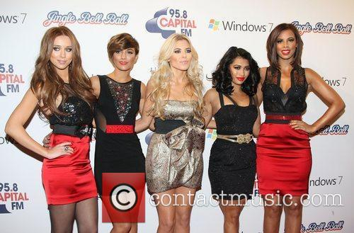 Una Healy, Frankie Sandford, Mollie King, Rochelle Wiseman and Vanessa White 2