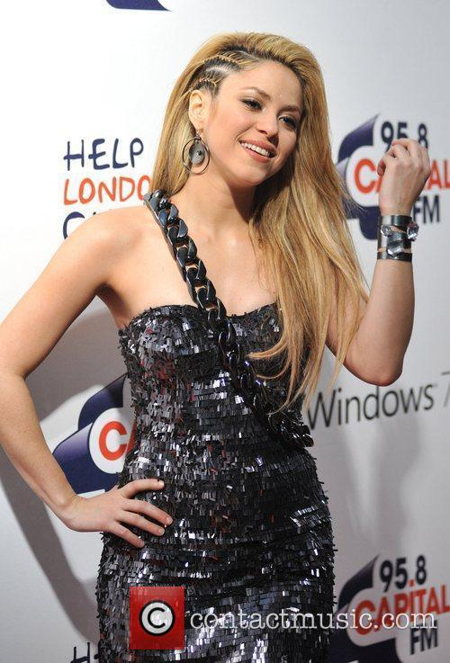Shakira The Jingle Bell Ball held at the...