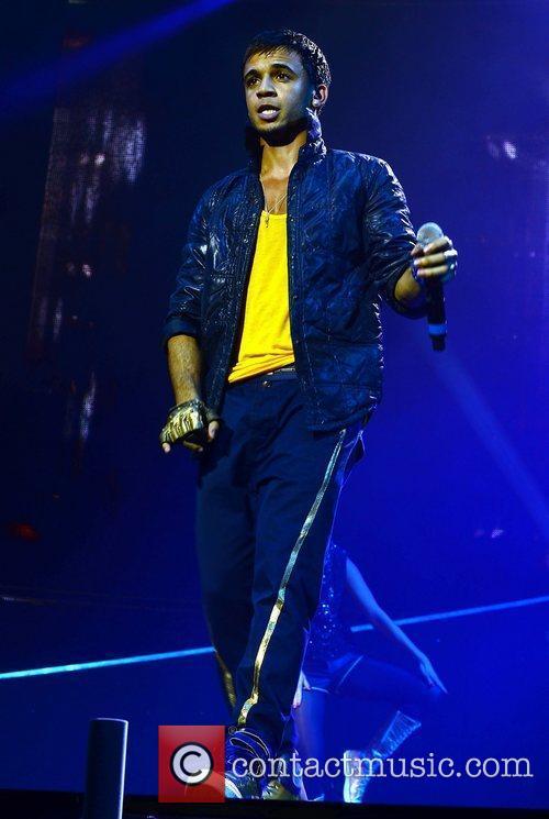 JLS performing at The O2