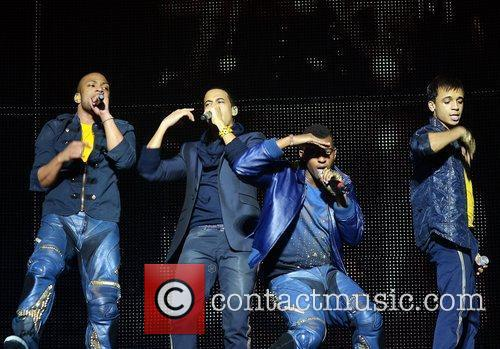 Jonathan Gill, Aston Merrygold and Jls 4