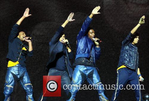 Jonathan Gill, Aston Merrygold and Jls 5