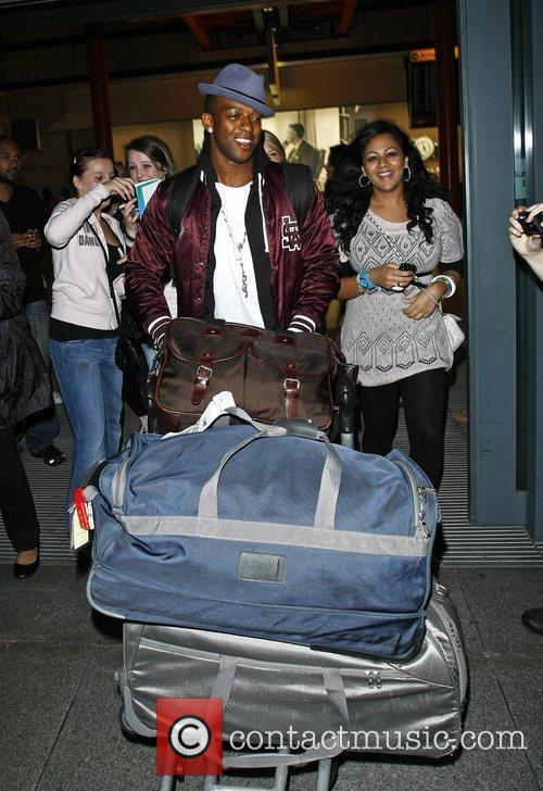 Oritise Williams JLS are mobbed by fans as...
