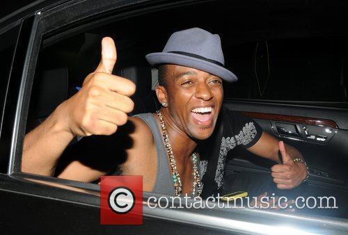 Oritise Williams of JLS leaves Alto club London,...
