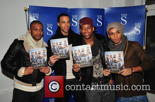 Jonathan Gill, Aston Merrygold, Jls and Smiths 4