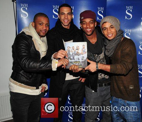 Jonathan Gill, Aston Merrygold, Jls and Smiths 6