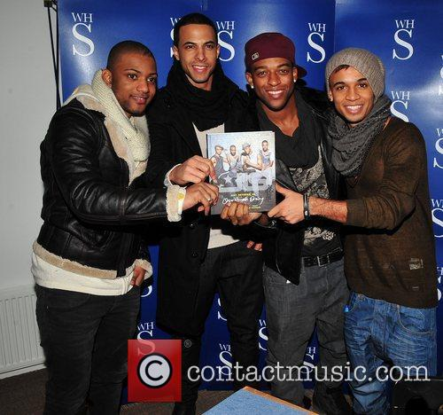 Jonathan Gill, Aston Merrygold, Jls and Smiths 3