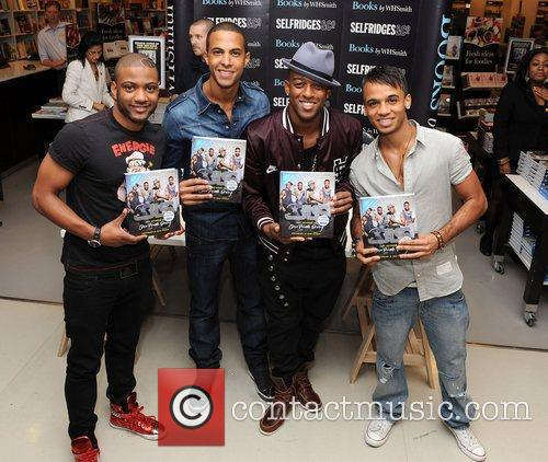 Jonathan Gill, Aston Merrygold and Jls 3