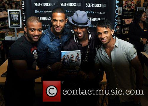 Jonathan Gill, Aston Merrygold and Jls 7