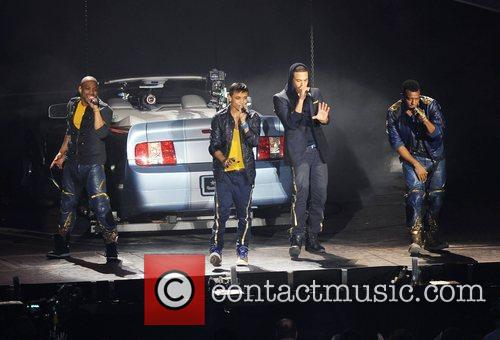 JLS in concert at the O2 Arena in...