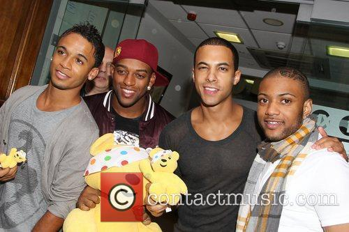 Aston Merrygold, Oritse Williams, Marvin Humes and Jonathan...