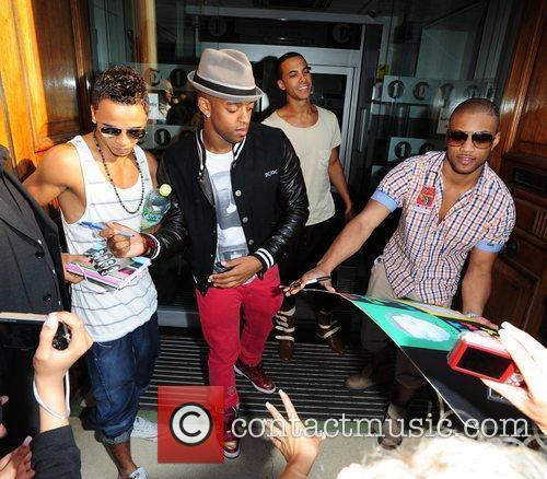 Aston Merrygold, Marvin Humes, Jonathan Gill Aka Jb and Oritse Williams 3