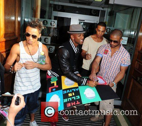 Aston Merrygold, Marvin Humes, Jonathan Gill Aka Jb and Oritse Williams 5