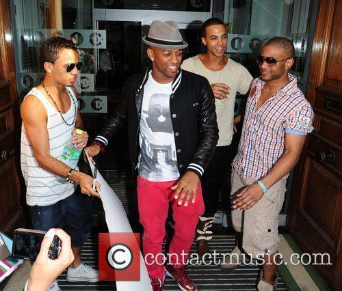 Aston Merrygold, Marvin Humes, Jonathan Gill Aka Jb and Oritse Williams 2