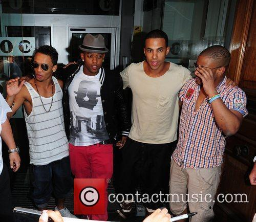 Aston Merrygold, Marvin Humes, Jonathan Gill Aka Jb and Oritse Williams 8