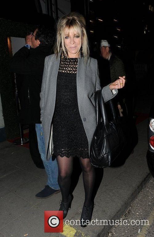 Jo Wood out in central London London, England