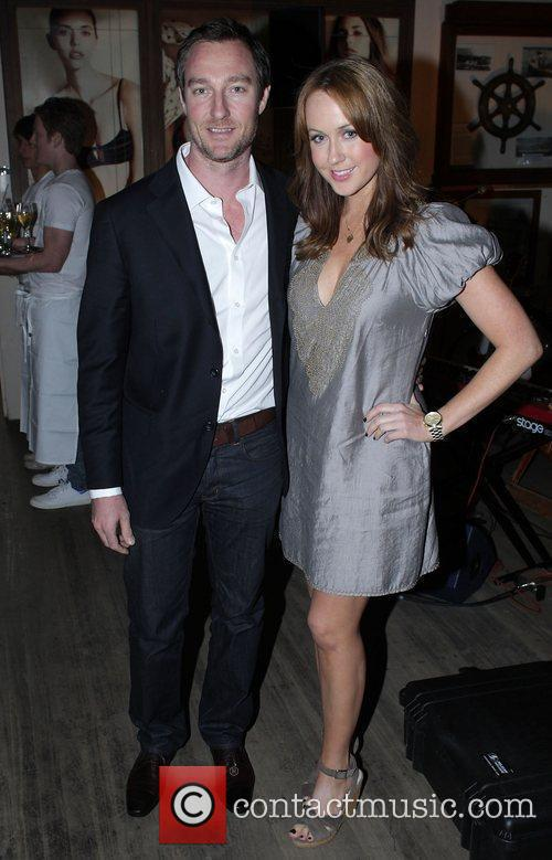 Lizzy Lovett and James Wicks Jodhi Meares launches...
