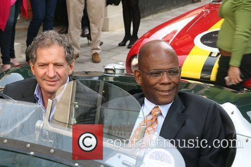 F1 world champion Jody Scheckter with South Africa's...