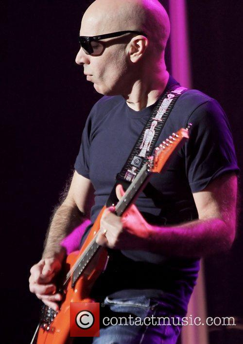 Joe Satriani Performing on the first night of...
