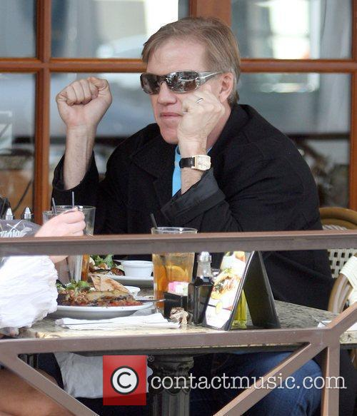 ex-Football player John Elway  spotted having lunch...