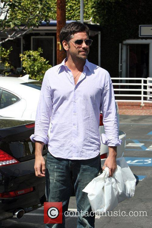 John Stamos  seen leaving the Fred Segal...
