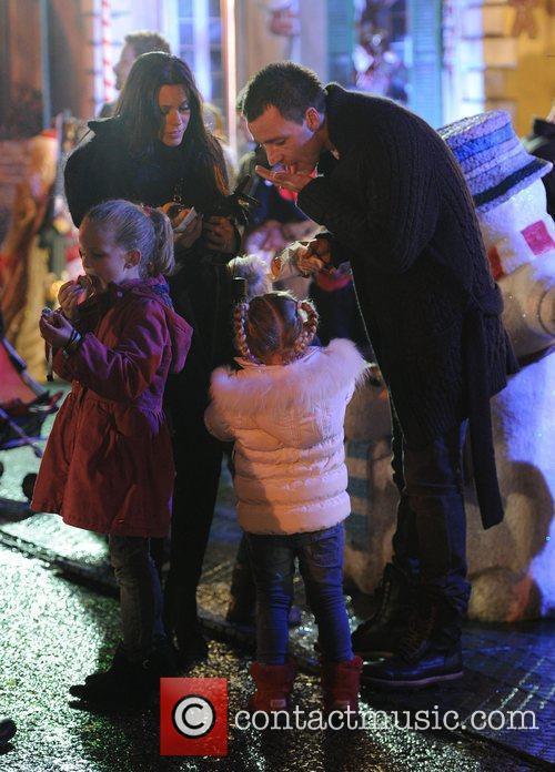John Terry, Toni Terry and their children enjoy...