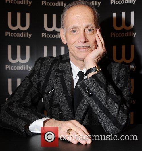 John Waters at a book signing for his...