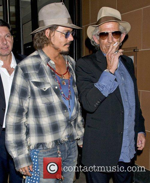 Johnny Depp and Keith Richards 12