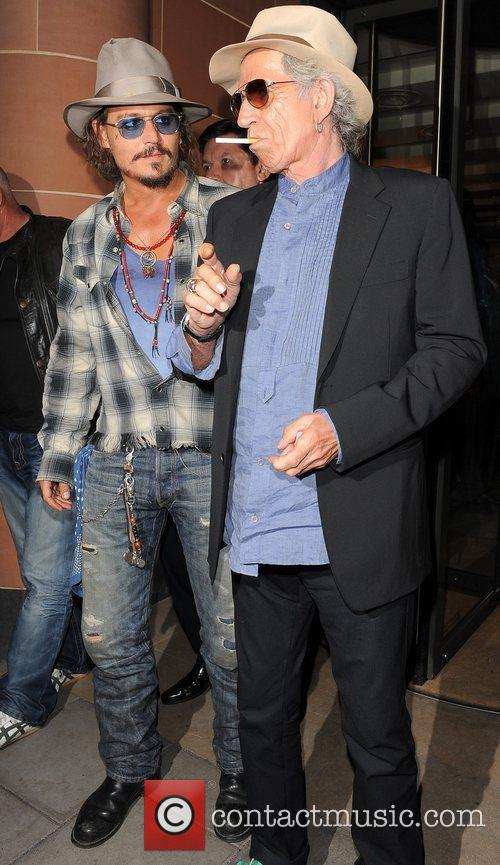 Johnny Depp and Keith Richards 2