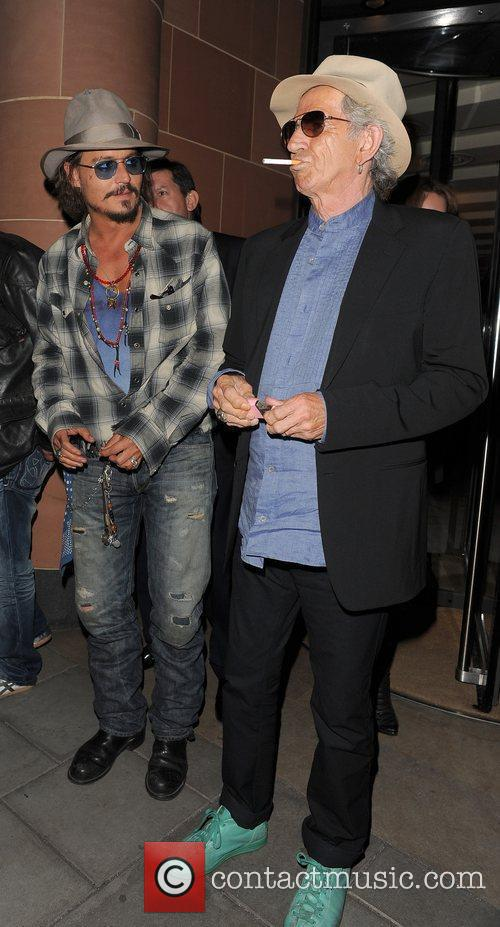 Johnny Depp and Keith Richards 15