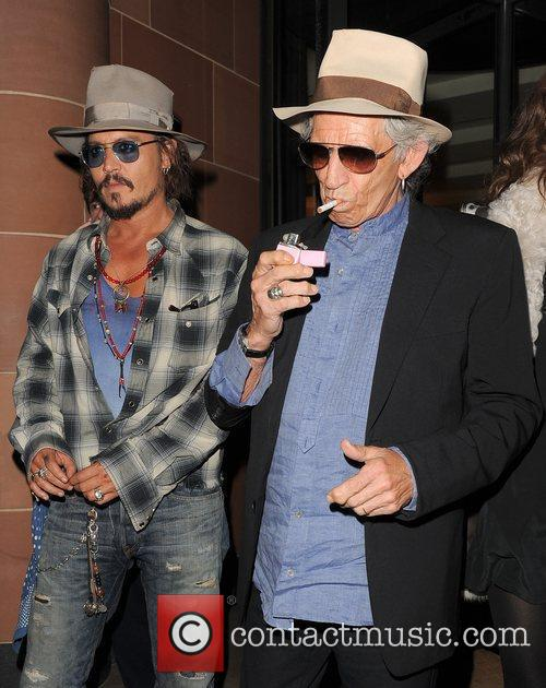 Johnny Depp and Keith Richards 10