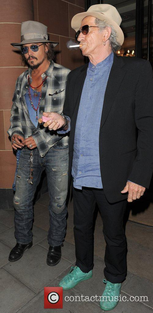Johnny Depp and Keith Richards 11