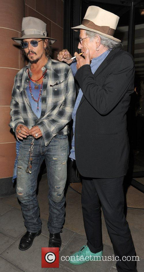 Johnny Depp and Keith Richards 17
