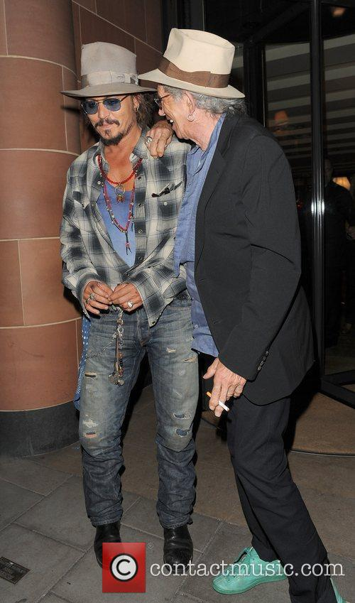 Johnny Depp and Keith Richards 9
