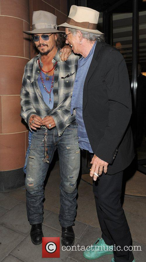 Johnny Depp and Keith Richards 6